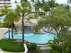 One of the pools at The Melia, Cable Beach