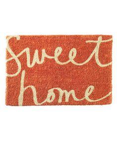 Ah! I want this doormat. So perfect.