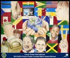 Merit Award Winner, Keely O'Connor, from New York, USA (Carthage Lions Club) - 2013-2014 Lions Clubs International Peace Poster Contest