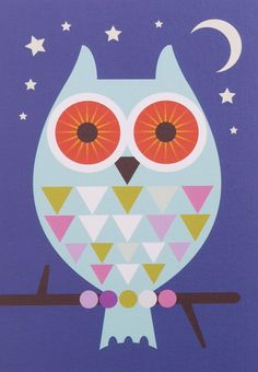 nice shape - 'Big Owl' by Kelly Hyatt