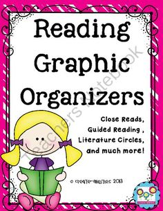 Language Arts Graphic Organizers: Close Reads, Guided Reading, Lit. Circles from Create abilities on TeachersNotebook.com -  (93 pages)  - Language Arts Graphic Organizers: Close Reads, Guided Reading, Lit. Circles