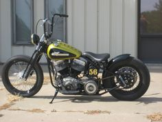 1956 Harley Davidson PANHEAD, CUSTOM BUILD BOBBER