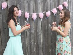 DIY Cotton Candy Lights | With Lovely,