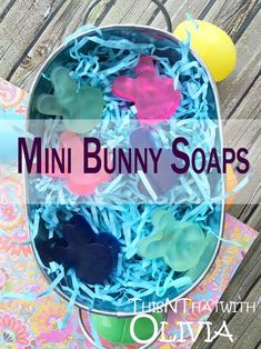 Mini Bunny Soaps for