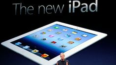 The new iPad. I just want one...