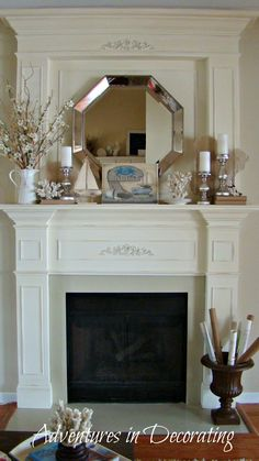 Fireplace Mantel Decor On Pinterest English Country