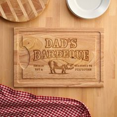 Smokin' Hot BBQ Cutting Board and other at PersonalCreations.com
