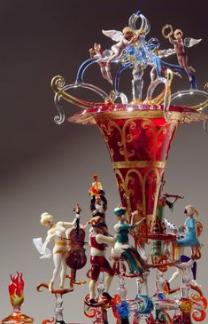 Glassware by Lucio Bubacco