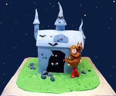Scooby Doo House Cake by *ginas-cakes on deviantART
