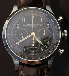 Swiss Watches and Luxury Watches - Baume et Mercier #luxury  http://wiki.jorabek.com/wiki/User:Granvillehot|N/A/index.php?title=Knowing-What-Kind-Of-Jewelry-Works-For-You---Montre-à-Quartz