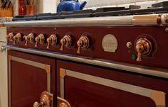 Beautiful La Cornue stove in our Rue Desaix apartment for sale in Paris  http://www.parispropertygroup.com/properties/residential/rue-desaix/?lf=1#