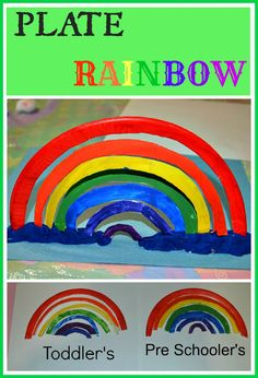 Plate rainbow