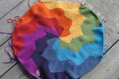 knit idea, crochet, circular knitting, blanket patterns, baby blankets, babi, knit blankets, yarn, rainbow