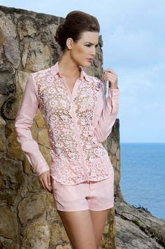 Camisa Lujosa - The Color Wear - Spring Collection