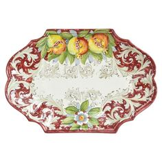 Bordeaux Pomegranate Platter by Abbiamo Tutto - available through Joss & Main