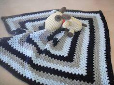 crochetbyad.blogspot.com  Manta para bebe