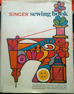 1969 Singer Sewing Book by lishyloo on Etsy