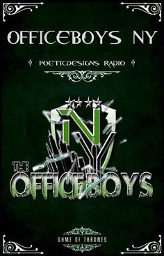 http://www.blogtalkradio.com/poeticdesignsradio/2014/08/13/the-morning-cook-up-show-brunchtime-afternoony-with-the-office-boys-ny-1