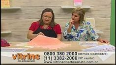 Toalha de Bandeja Vagonite com Leila Jacob - Vitrine do Artesanato na TV