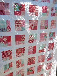 Doesn't have to be an intricate design to be a beautiful quilt