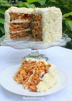 Carrot Cake - MCS's Favorite Recipe