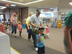 2014 Teddy Bear Picnic. At the end, we went on a Teddy Bear Parade through the library!