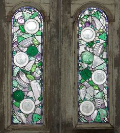 recycled glass windows would be lovely in the kitchen and would love amazing on rain days!
