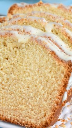 Frosted Eggnog Bread  ~ Eggnog in the bread and eggnog in the glaze makes this Frosted Eggnog Bread the perfect sweet bread for the eggnog lovers in your life.