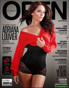 Adriana Louvier Revista Open | FamosasMex