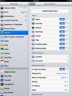 quick iPad management tips, part 1
