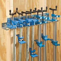 Pipe Clamp Rack/Bar Clamp Rack $15.99.