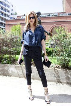 Virginie Mouzat's style