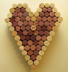 Wine Cork Heart  Different Styles