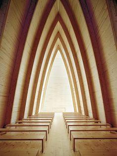 St. Henry's Ecumenical Art Chapel    Turku, Findland   Sanaksenaho Architects   photo by Jussi Tiainen