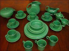 Medium Green Fiesta Ware