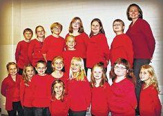 Point Pleasant (WV) Register - Children choral performances set