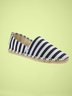 Striped Espadrilles by Gap -feed my obsession for stripes, must buy.