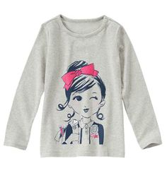 Gymboree's I Love Books tee - yay for more big chain stores offering smart designs.