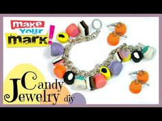 ▶ How to: Candy Jewelry DIY - YouTube