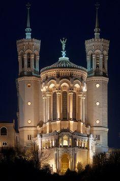 Basilica of Notre-Dame de Fourvière, Lyon, France