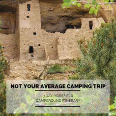 3 day itinerary at Colorado's Mesa Verde National Park