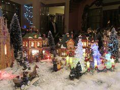Christmas village decor christma joy, christma villag, christmas villages, christma idea, beauti christma