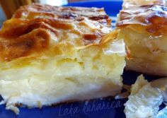 Pita s kiselim mlijekom i fetom :: Sour milk and feta cheese phyllo pie | Laka kuharica - Easy Cook