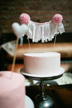 easy #diy idea by creating a mini version of a ribbon backdrop! - photo by Shannen Natasha - http://ruffledblog.com/metropolitan-garden-wedding/