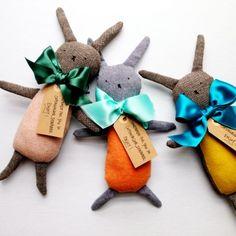 looks like the rabbits Abby makes