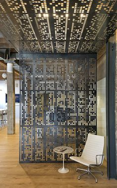 Studio O+A has designed new headquarters for software developer Giant Pixel. The first thing you see upon entering? The opening crawl text from Star Wars--written in a custom-made binary code.