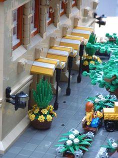 Lego street side
