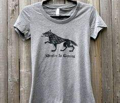 Winter is coming T-Shirt - House Stark - Game of Thrones