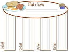 Cute Graphic Organizers! FREE!