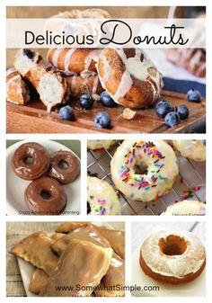 Delicious Donuts- 5 Homemade Donut Recipes